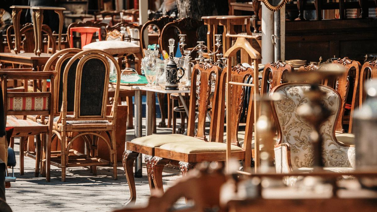 chaises brocante
